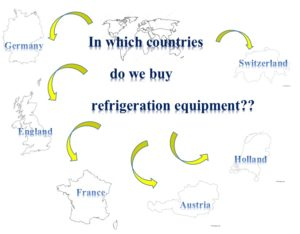 countries importing refrigeration equipment