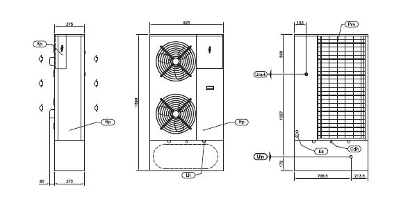 Схема чиллера с накопительной емкостью