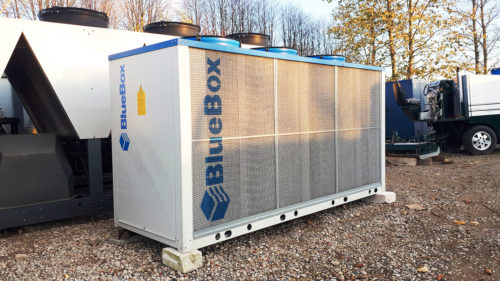Aircooled chiller Blue Box ZETA 60 kW