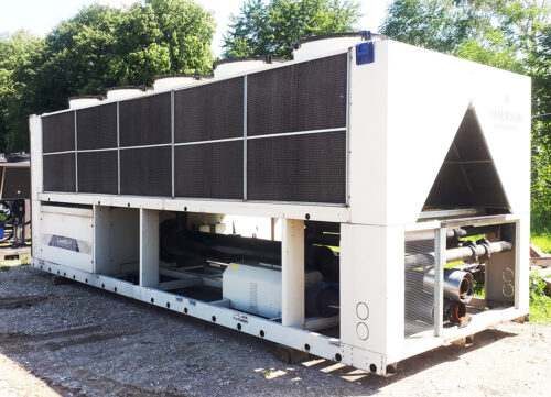 Aircooled chiller Emerson 501 kW