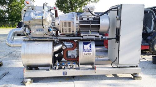 Chiller amoniaku SABROE 375 kW